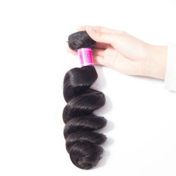 Brazilian 1 Bundles Loose Wave Human Hair Extensions
