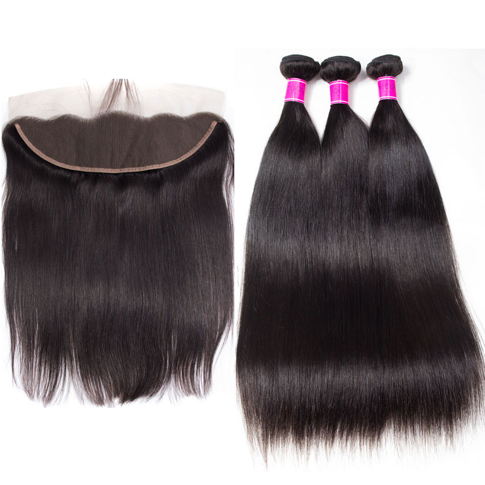 Brazilian-Straight-Virgin-Hair-4-Bundles-With-Lace-Frontal