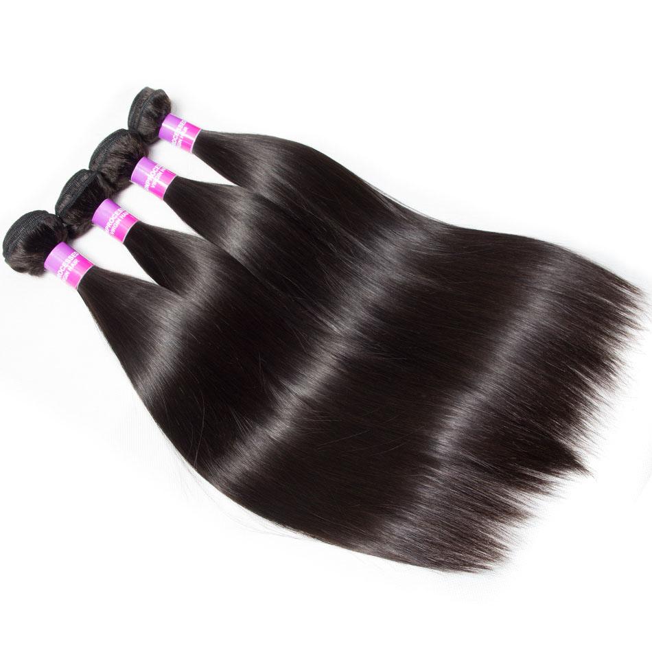 Brazilian Straight Virgin Human Hair 10 Bundle Deals
