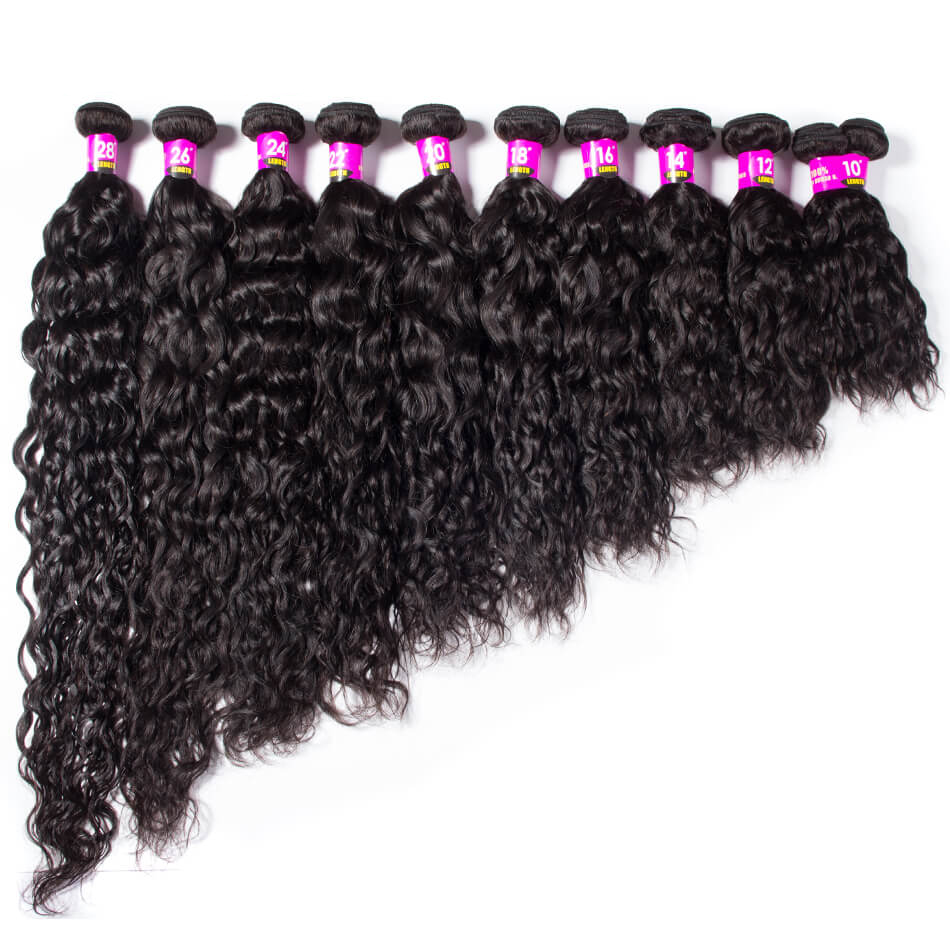 Brazilian Wet And Wavy Bundle Water Wave Hair