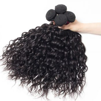 Brazilian Wet And Wavy Water Weave Hair 4 Bundles