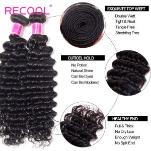Deep Wave Hair Virginia Human Hair Bundles