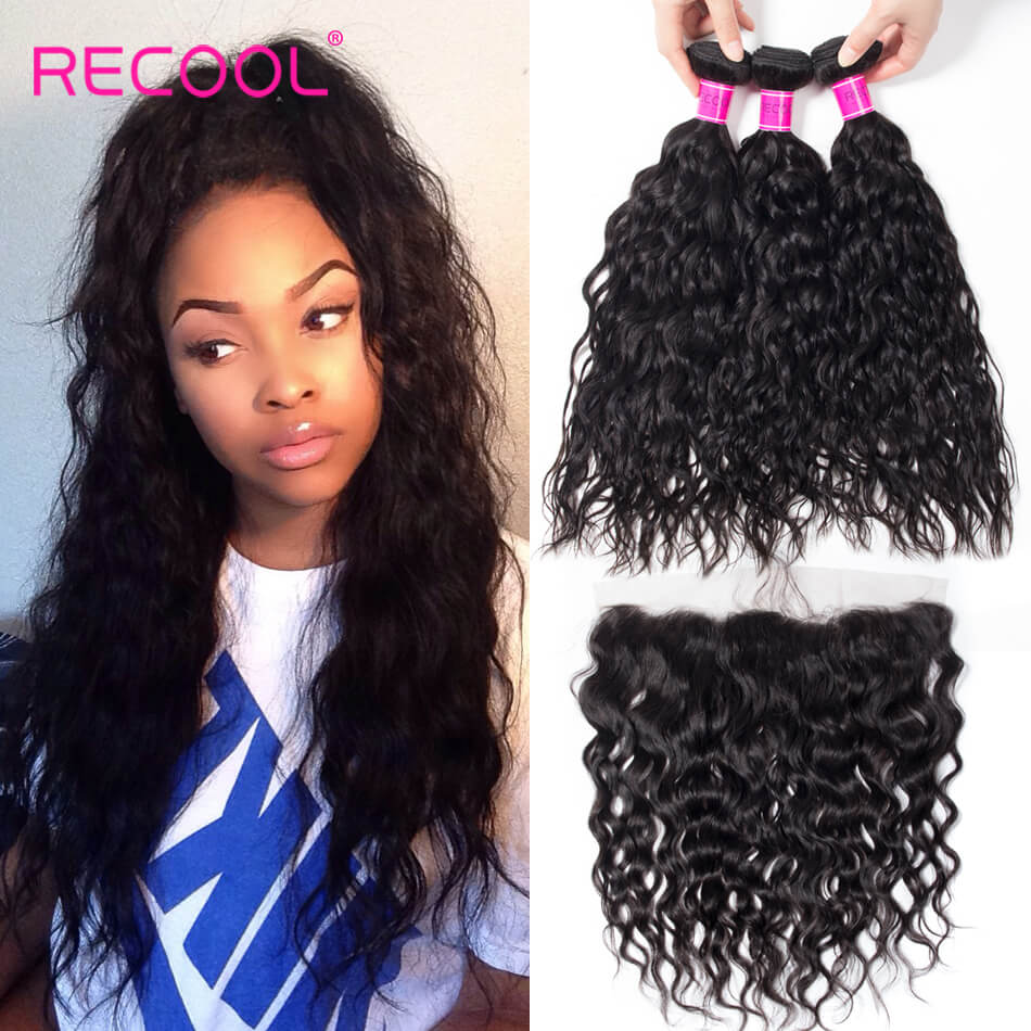 Curly Virgin Human Hair 4 Bundles Recool Hair