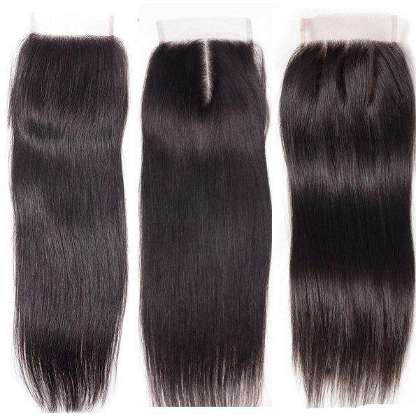 Virgin Human Hair Cheap Lace Closures For Sale 1 PCS