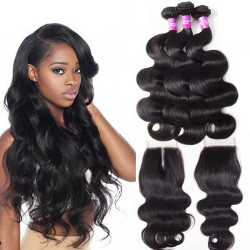 body wave hair bundles with lace closure 58cc8ae9f9