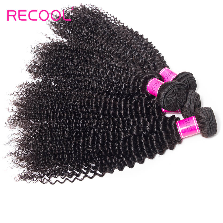kinky curly wave hair bundles
