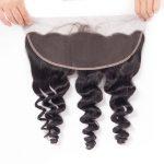 10A Brazilian Loose Wave Frontal Closure Human Hair