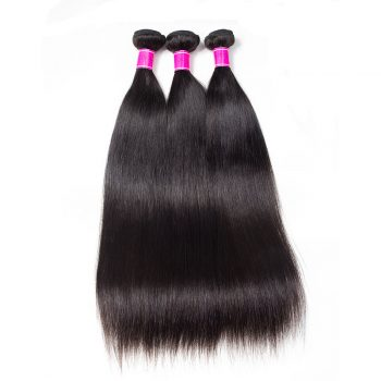 Recool Hair Malaysian Straight Hair 4 Bundles 100% Virgin Human Hair Weave Bundles 10A Premium Remy Hair