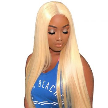 613# Blonde Brazilian Straight Hair 4 Bundles