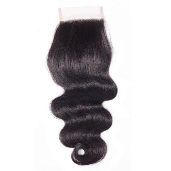 Body Wave Human Hair 4×4 Lace Closure