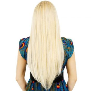 Brazilian Straight Human Hair 3 Bundles 613 Blonde Hair