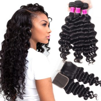 Cheap Malaysian Loose Deep Bundles With Closure