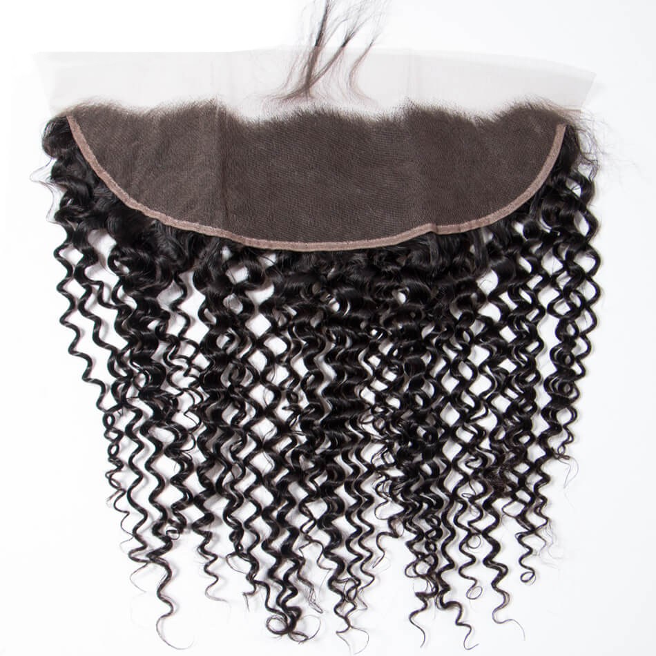 Hot Selling Brazilian Curly Wave 13×4 Lace Frontal Closure