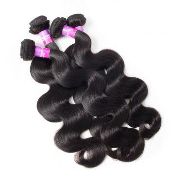 Indian Virgin Hair Body Wave 4 Bundles 10A High Quality