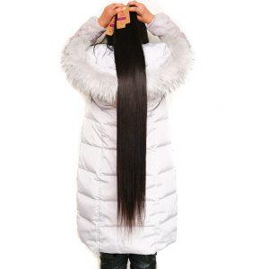 Long Cheap Hair Bundle Deals Brazilian Straight Hair