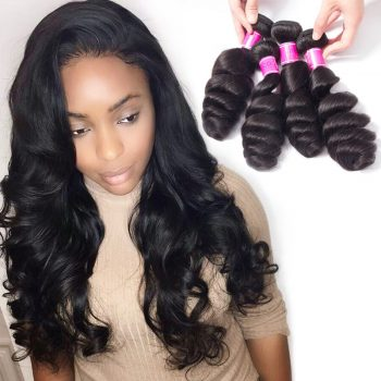 Malaysian Loose Wave Hair Bundles Virgin Human Hair