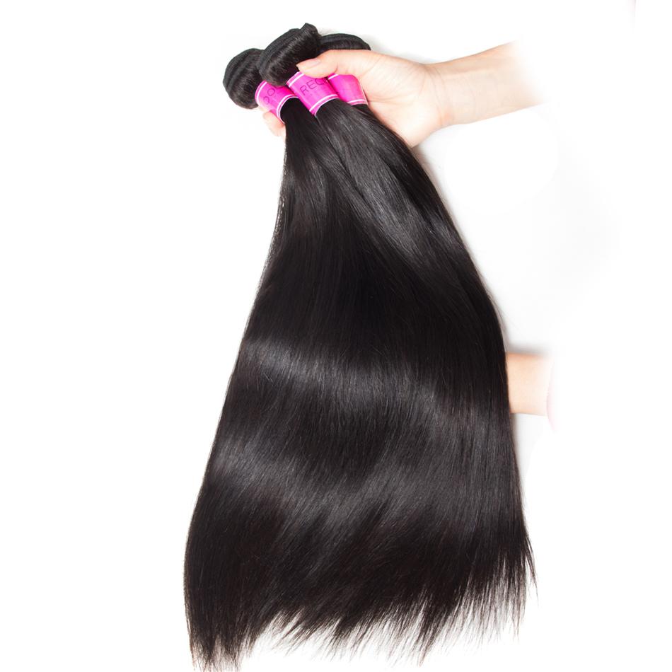 Malaysian Straight Virgin Human Hair 3 Bundles Sale