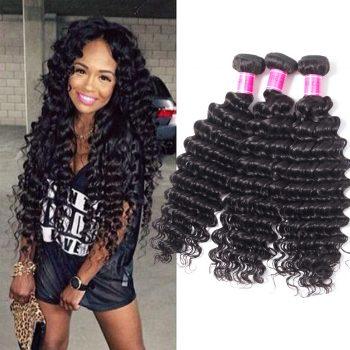 Malaysian best Virgin Hair Deep Wave Bundles Sale