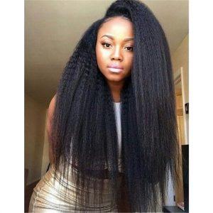 Peruvian Kinky Straight Hair 4 Bundles