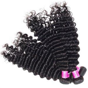 Peruvian Virgin Hair Deep Wave 3 Bundles Sale