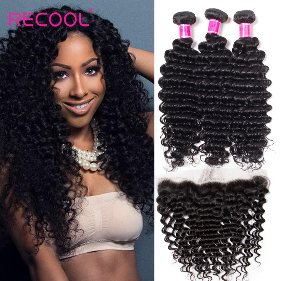 Loose Deep Wave Weave With Closure and Frontal
