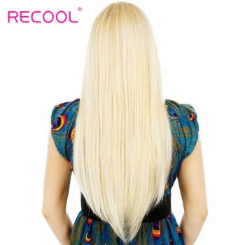 Blonde 613# Color Brazilian Straight Hair 8A Virgin Human Hair 3 Bundles Sale