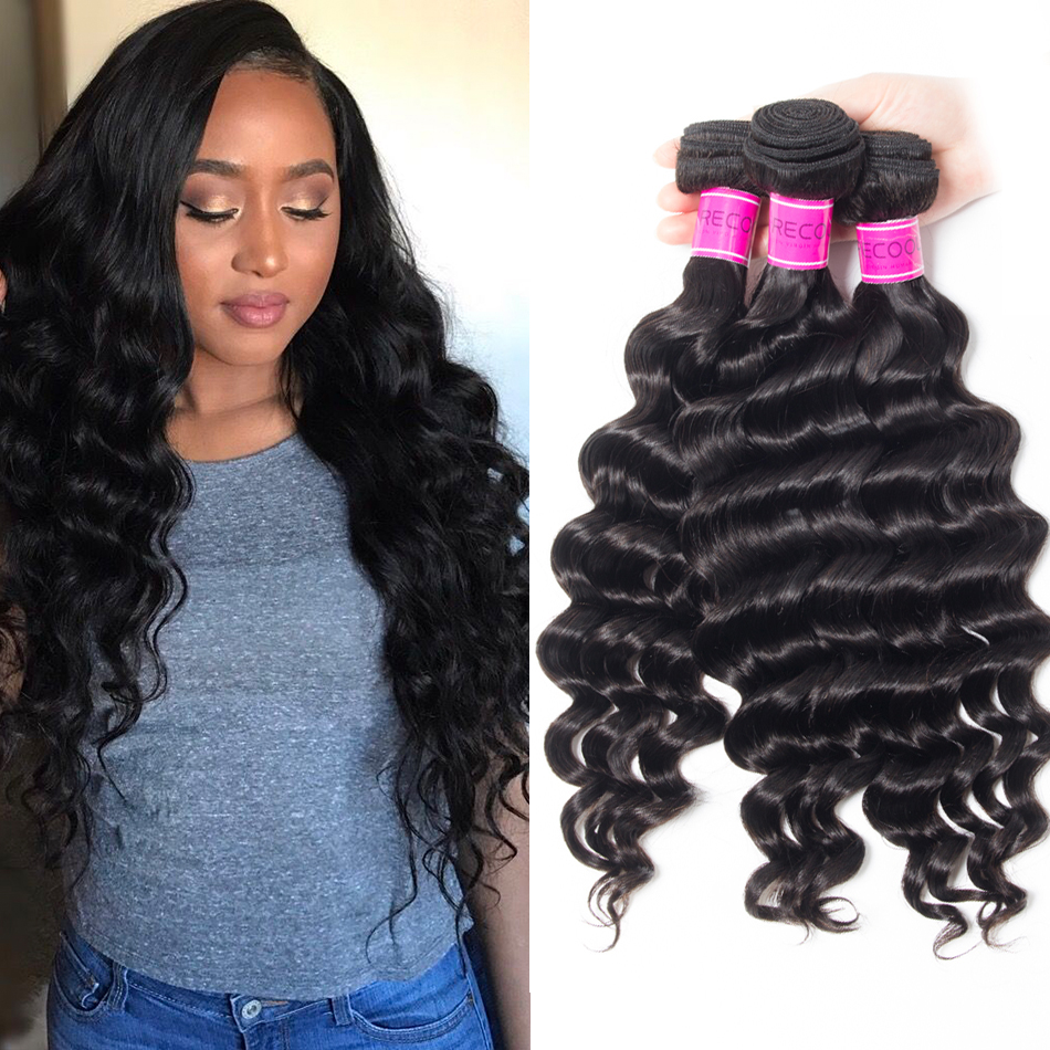 Sale Indian Loose Deep Wave Bundles Online