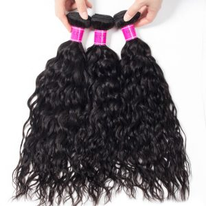Sale Indian Wet And Wavy Bundles Water Wave