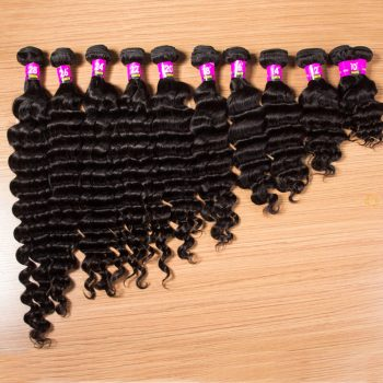 Wholesale Virgin Brazilian Loose Deep Wave Hair Bundles