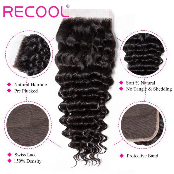 deep wave Lace Closure details