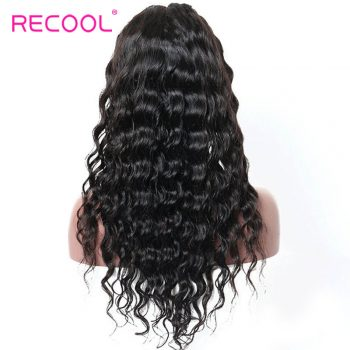 180% Density Loose Deep Lace Front Wigs Human Hair with Baby Hair for Black Women Loose Deep Front Lace Wigs 1B off Black Human Hair Wigs