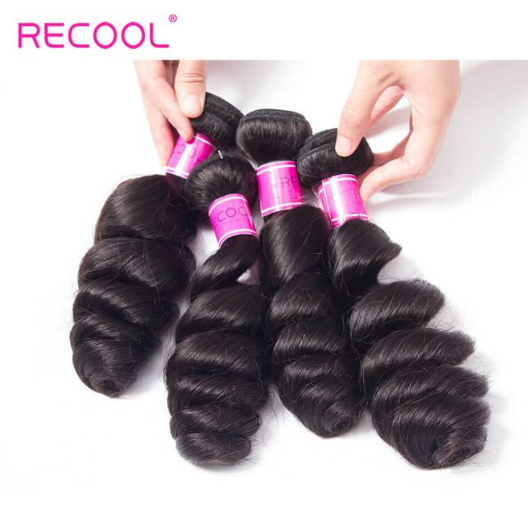 recool hair loose wave bundles 11