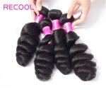 Brazilian Virgin Human Hair Loose Wave 3 Bundles Deal
