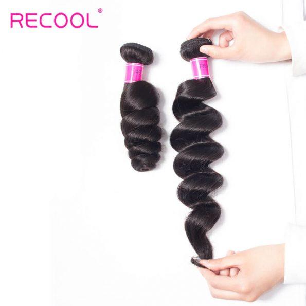 recool hair loose wave bundles 20