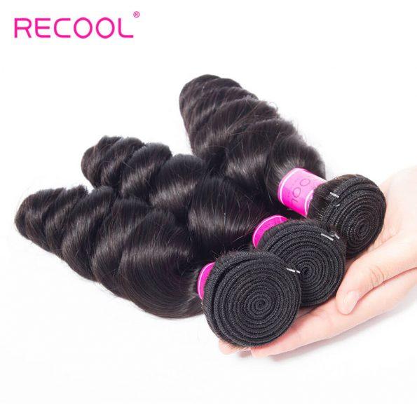 recool hair loose wave bundles 7