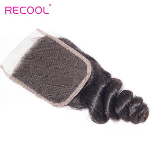 recool hair loose wave closure 9