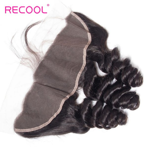 recool hair loose wave frontal 10