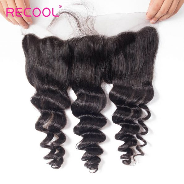 recool hair loose wave frontal 3