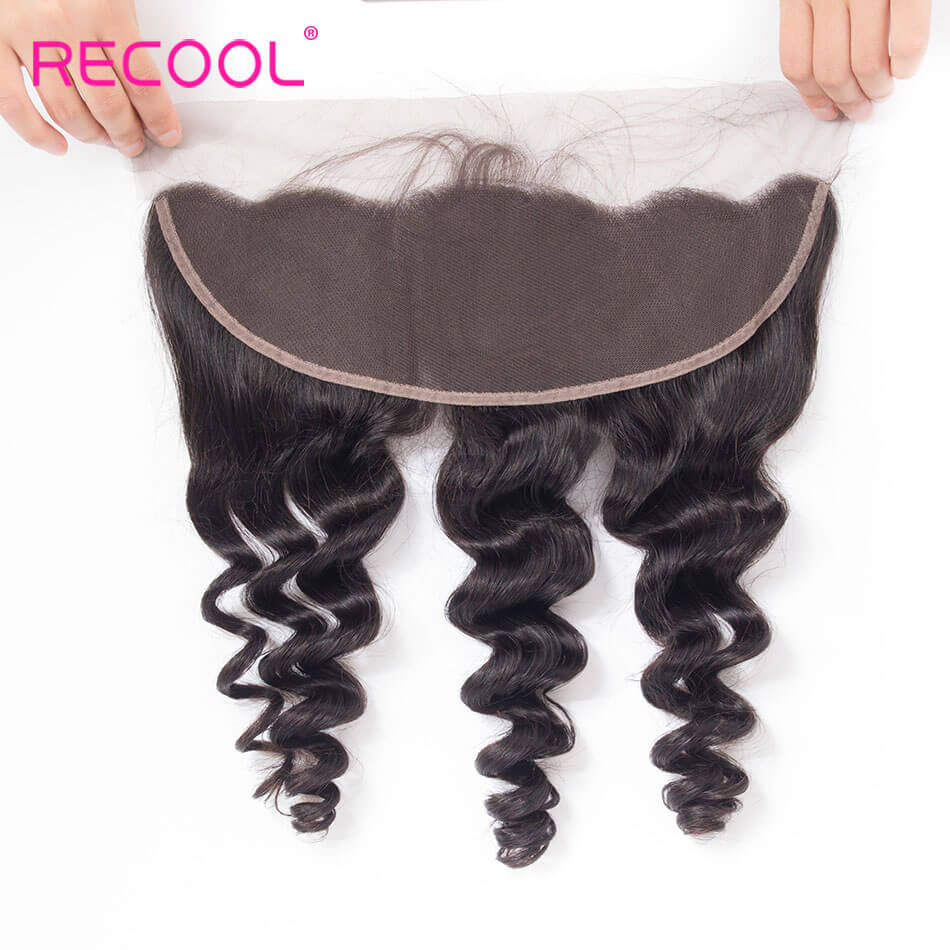recool hair loose wave frontal 5