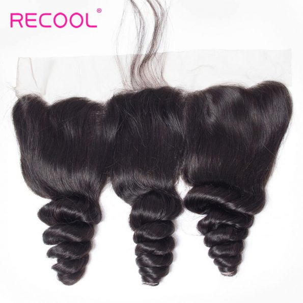 recool hair loose wave frontal 9