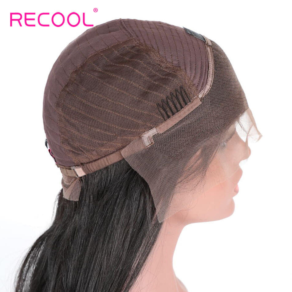 100% Human Hair Cheap Lace Front Wigs Straight Lace Front Wigs 180% Dentisy 8A Lace Human Hair With Baby Hair For Black Women Straight