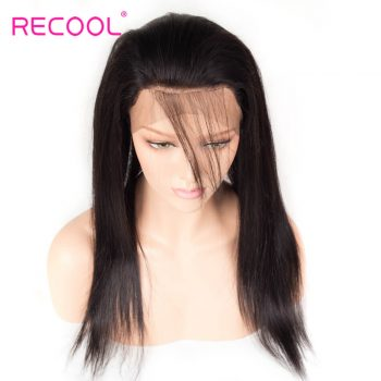Straight 360 lace frontal closure wig, 360 lace frontal band, 360 full lace wigs