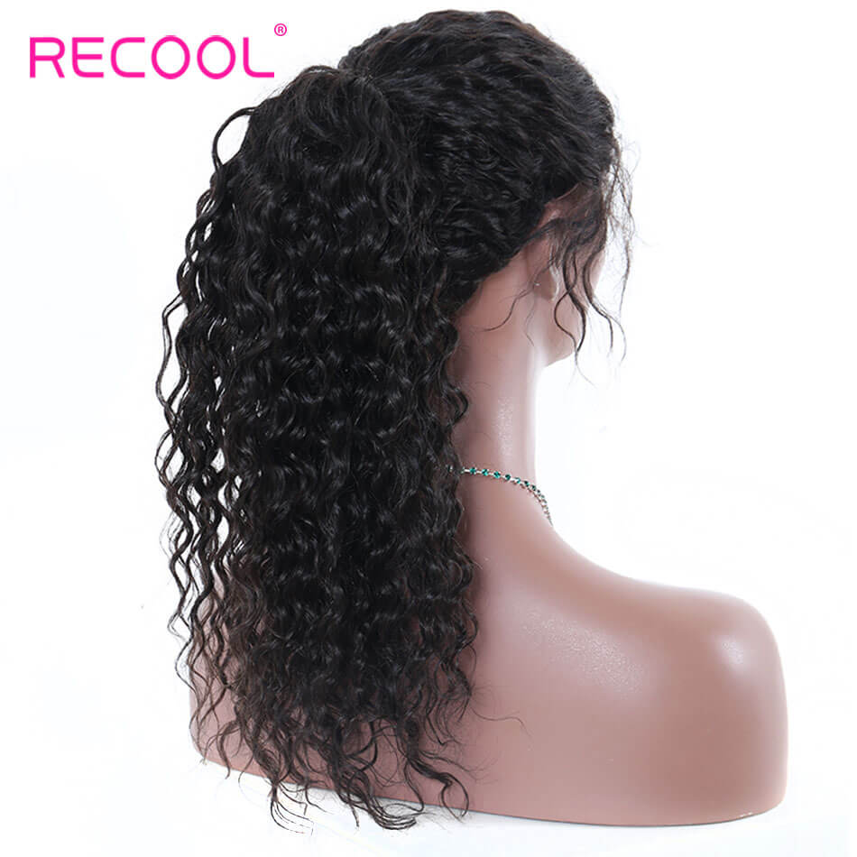 Lace Front Human Hair Wigs Deep Wave Human Hair Wigs For Black Women 8A Pre Plucked 180% Lace Front Wigs