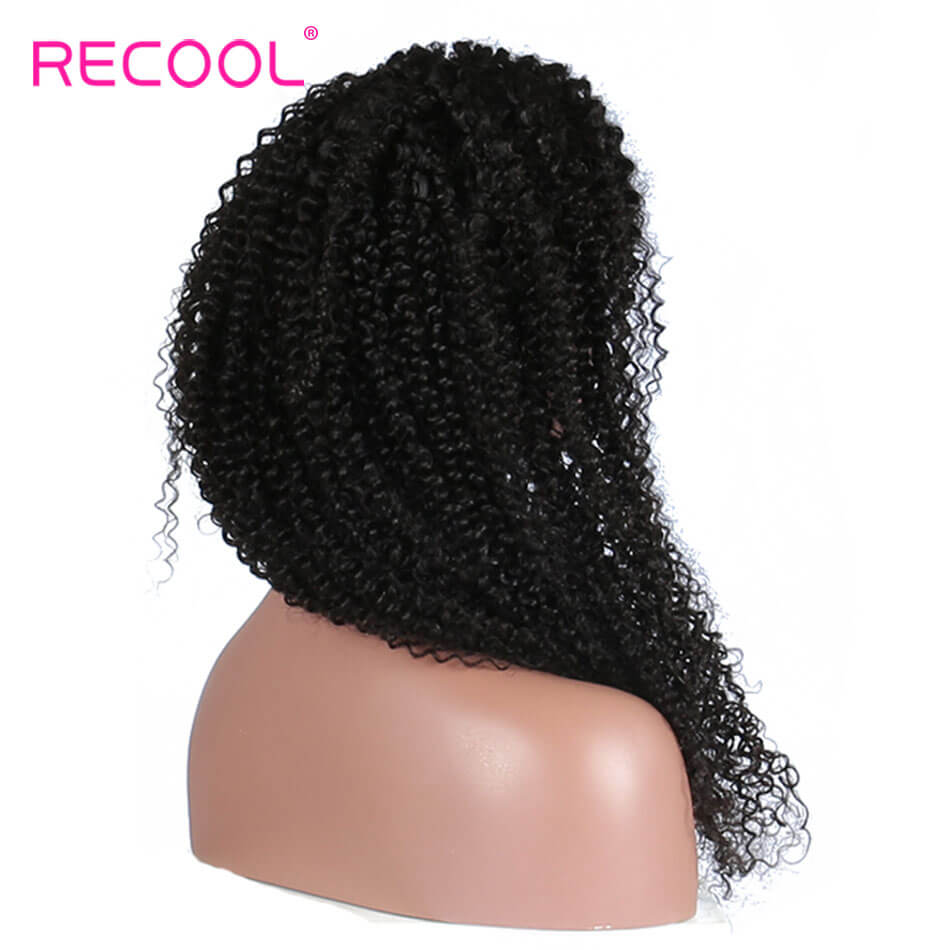 Kinky curly Lace Frontal Wig Virgin hair Kinky curly Lace Front Wigs Human Hair Wigs for Black Women with Baby Hair Kinky Curly Wigs