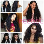 Malaysian Human Virgin Hair Water Weave 4 bundles