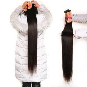 Long Brazilian Straight Hair 30 32 34 36 38 40 Inch