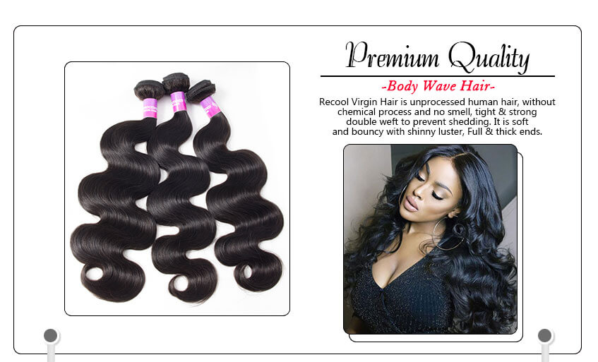 Brazilian Virgin Hair Body Wave 3 Bundles With Closure deal, brazilian body wave hair with closure