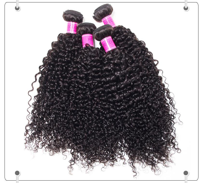 Brazilian Hair Weave 4 Bundles 10 30 Inch Curly Weave Recool Hair