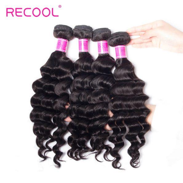recool hair loose deep bundles 17