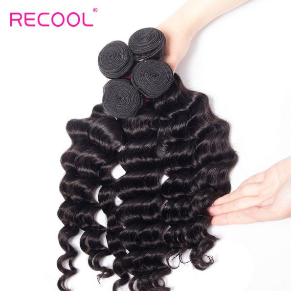recool hair loose deep bundles 27